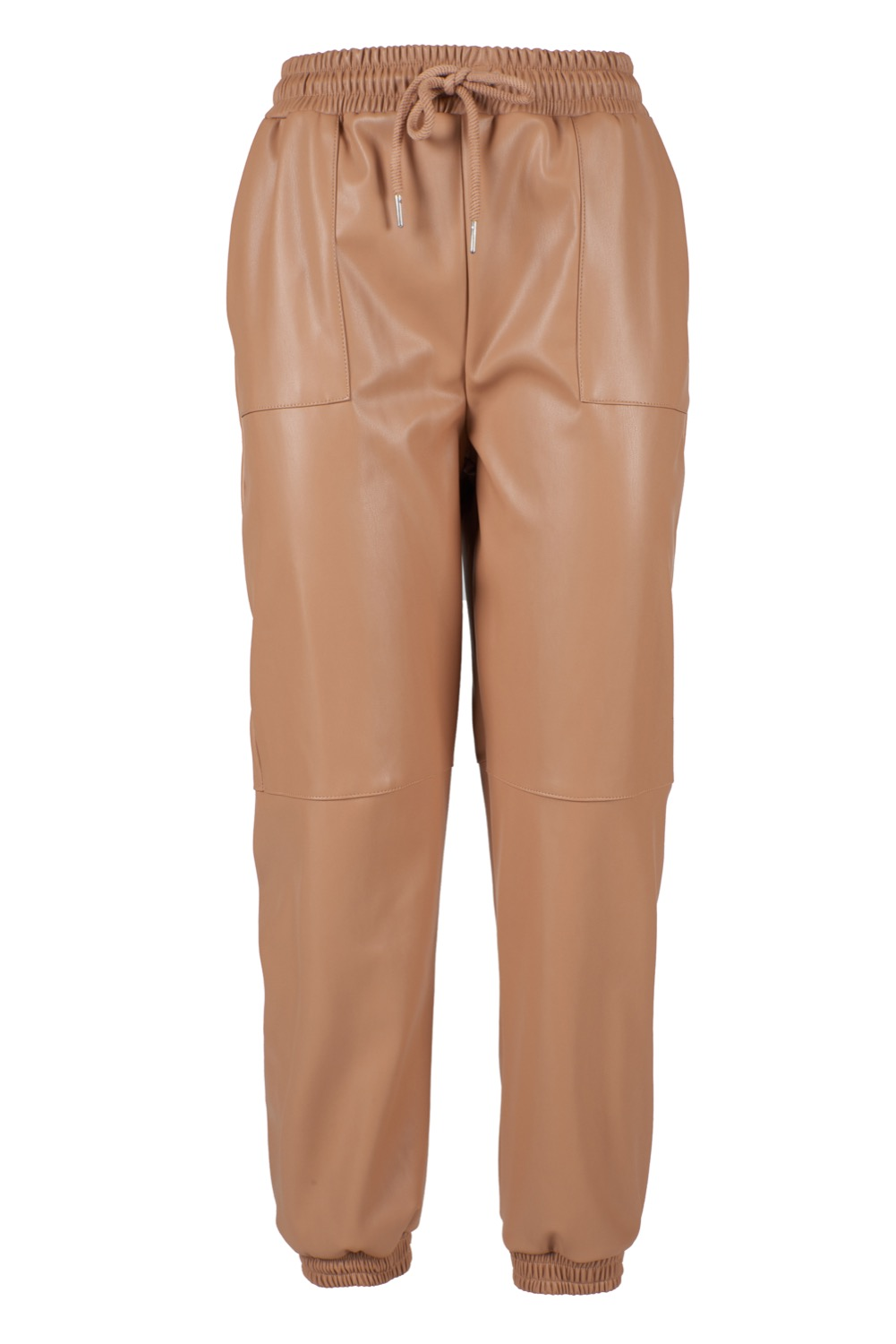 PANTALONE DONNA IN PU CON COULISSE