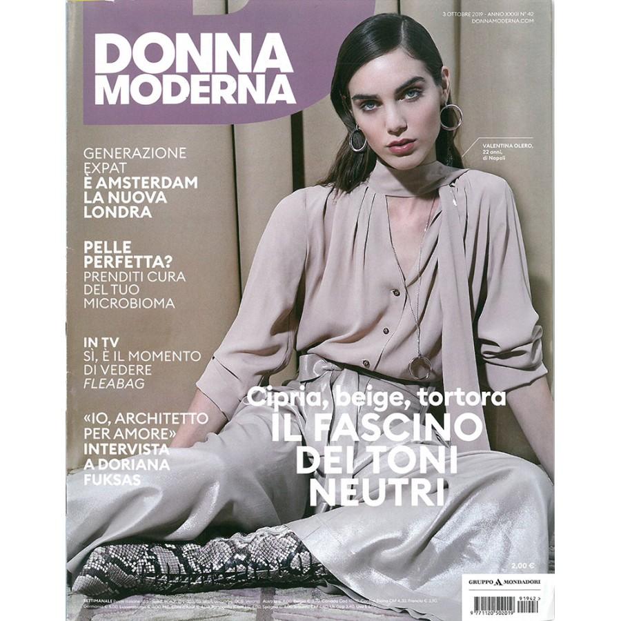 DONNA MODERNA - n.42 - Ottobre 2019
