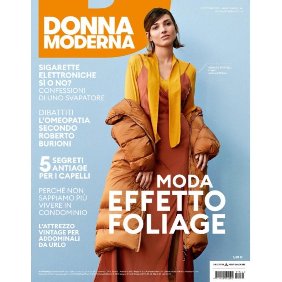 DONNA MODERNA - n.44 - Ottobre 2019