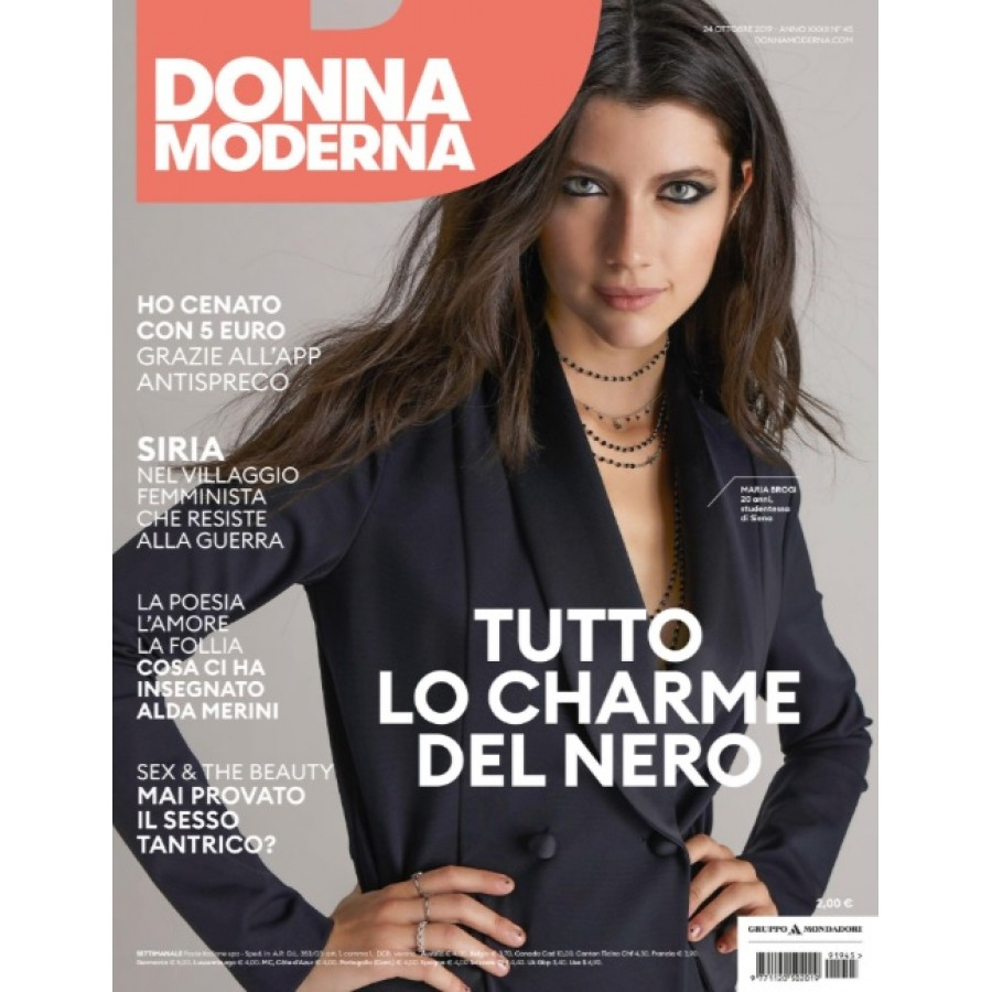 DONNA MODERNA - n.45 - Ottobre 2019