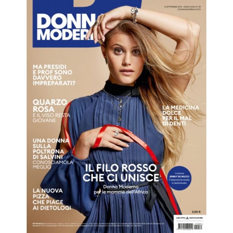 DONNA MODERNA - n.39 - Settembre 2019