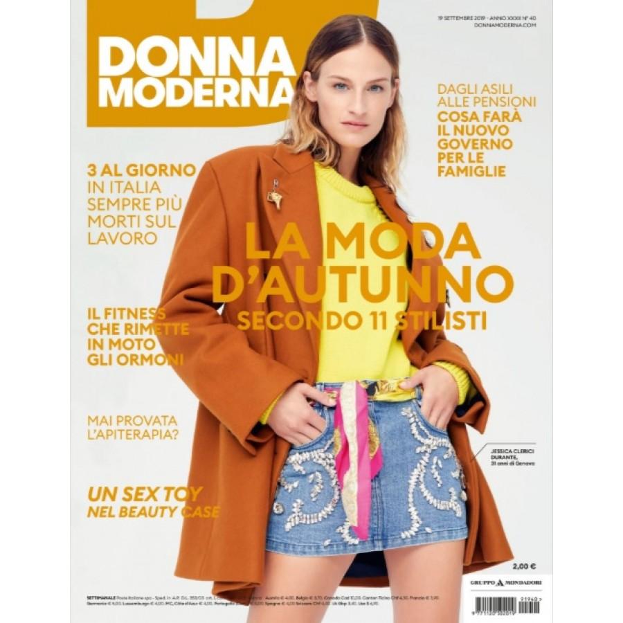 DONNA MODERNA - n.40 - Settembre 2019