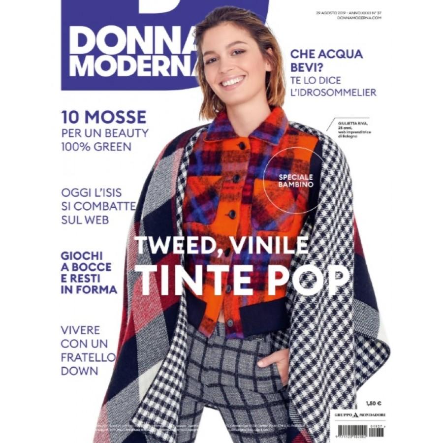 DONNA MODERNA - n.37 - Agosto 2019