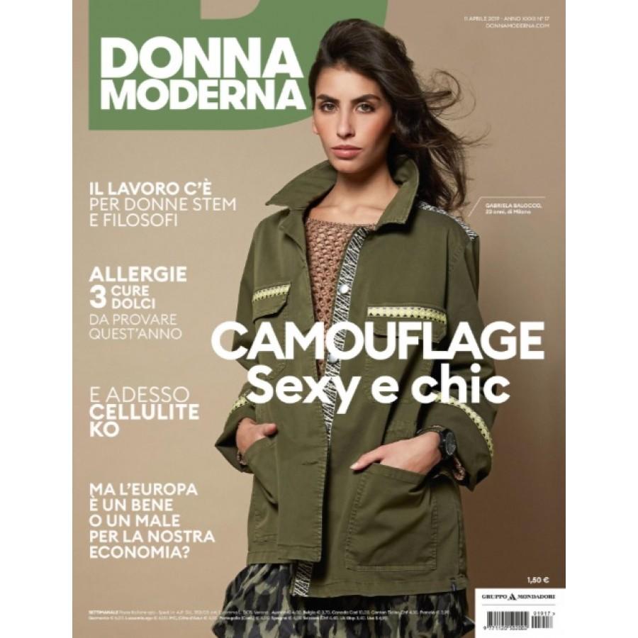 DONNA MODERNA - n.17 - Aprile 2019