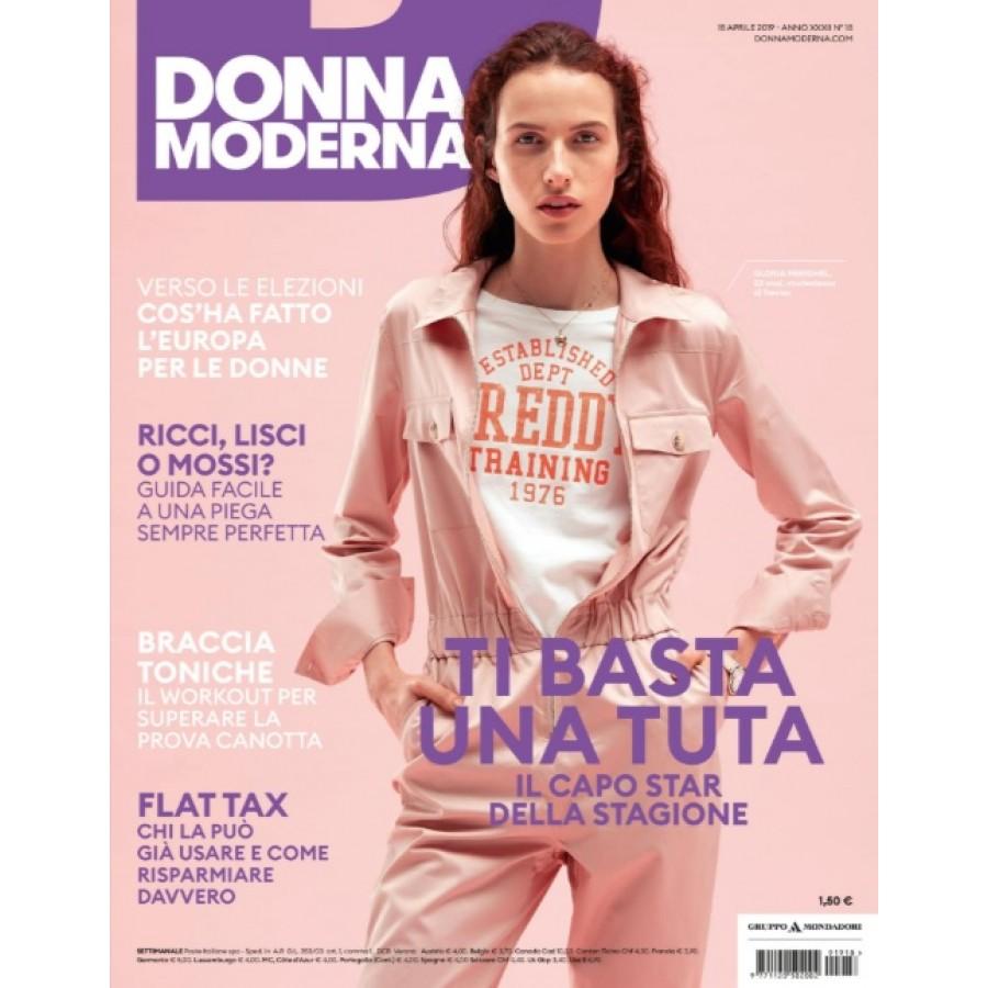 DONNA MODERNA - n.18 - Aprile 2019