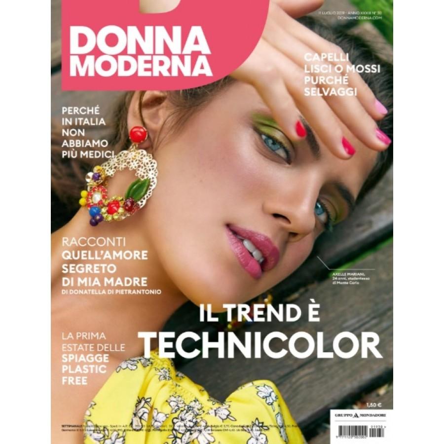 DONNA MODERNA - n.30- Luglio 2019
