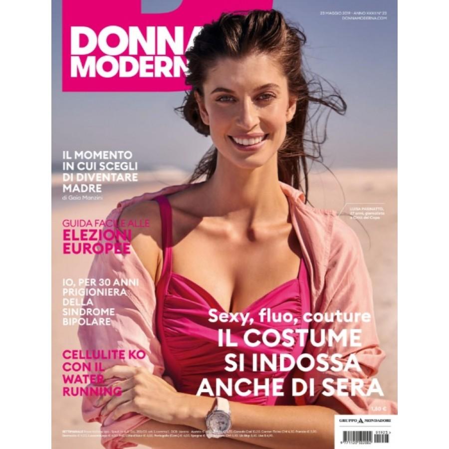 DONNA MODERNA - n.23 - Maggio 2019