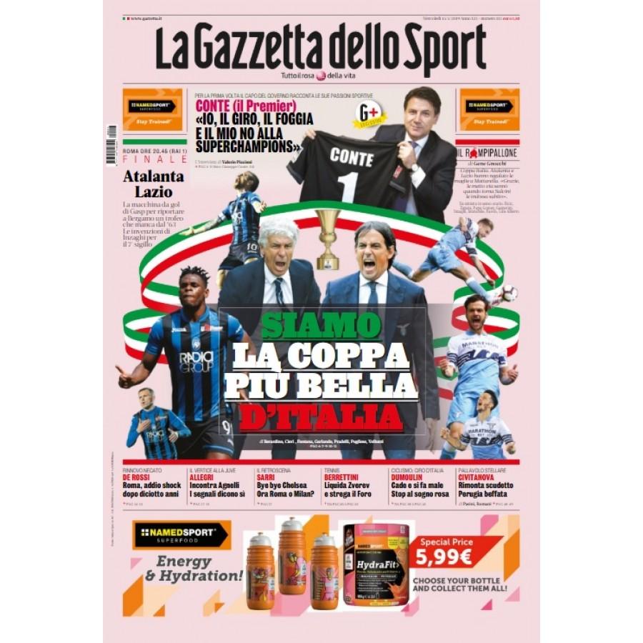 GAZZETTA DELLO SPORT - 15 Maggio 2019