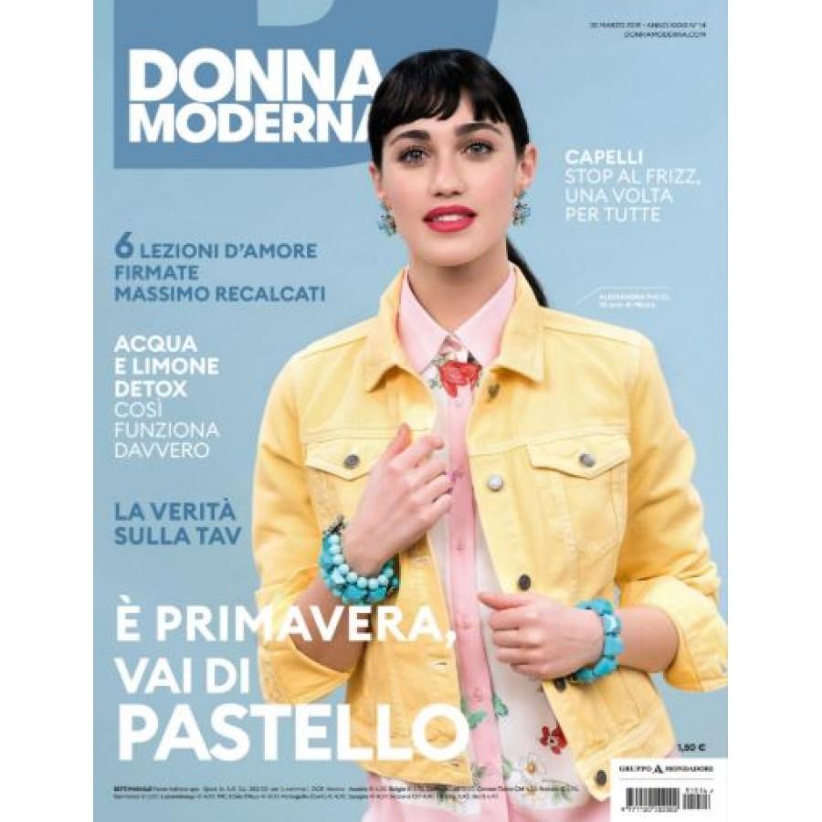 DONNA MODERNA - n.14 - Marzo 2019