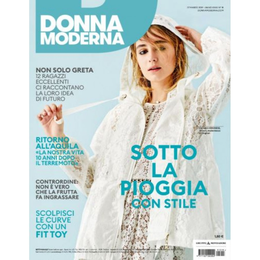 DONNA MODERNA - n.15 - Marzo 2019