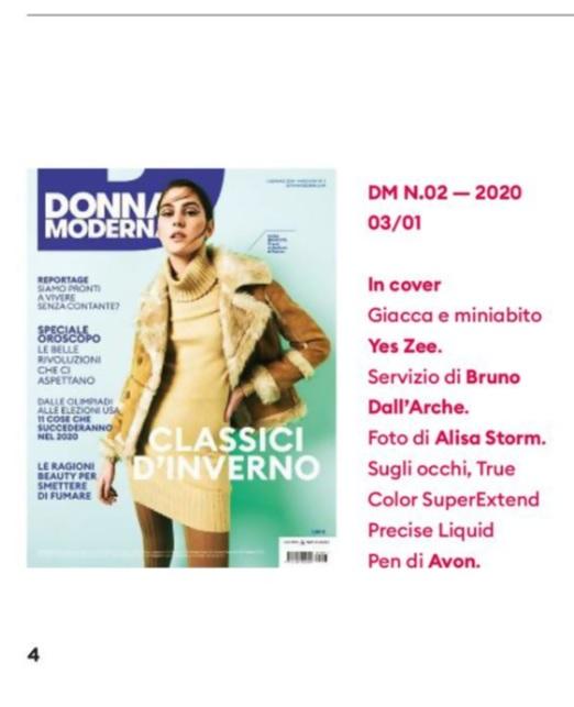 DONNA MODERNA - n.3 - Gennaio 2020