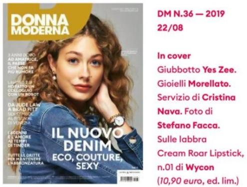 DONNA MODERNA - n.33 - Agosto 2019